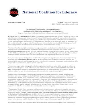 AEFL2014 Press Release